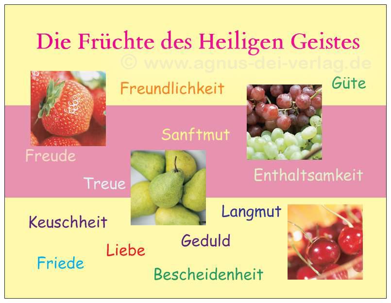 Die Früchte Des Geistes